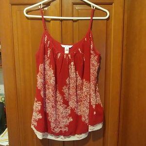 CAbi Camisole Medium Red